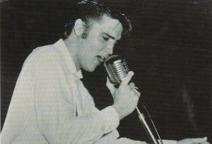 Elvis Presley At A 1956 Concert