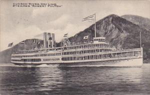 Steamer Robert Fulton Of The Hudson River Day Line 1909