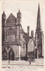 La Cathedrale, Commencee En 1339, Terminee Au XV Siecle, Treguier (Cotes d'Ar...