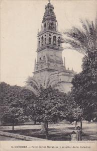 Cordoba, Patio de los Naranjos y exterior de la Catedral, Andalucia, Spain, P...