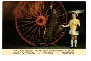 Steam Engine, Doll Western Museum Interior North Battleford Yorkton Saskatchewan