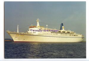 LN1239 - Royal Cruises Liner - Royal Odyssey , built 1984 - postcard