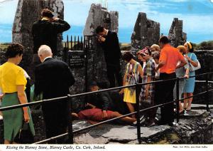 Co Cork Ireland Kissing the Blarney Stone Co Cork Kissing the Blarney Stone