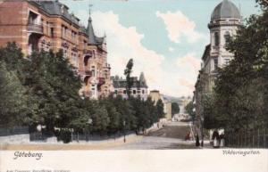 Sweden Goteborg Viktoriagatan Victoria Garden 1907