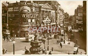 Modern Postcard Piccadilly Circus London