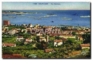 Postcard Old Goulfe Juan Vue Generale