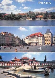 Czech R. Prague Praha Prazsky Hrad, Staromestske Namesti Trojsky Zamek Castle