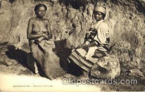 Madagascar - Femmes Betsileo African Nude Post Card Post Card  Madagascar - F...