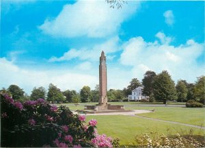 Postcard Netherlands Holland Oosterbeek Airborne museum column