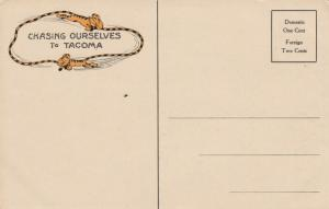 TACOMA , 1913 ; MONTAMARA Festival, Ephemera & Postcard
