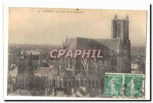 Troyes Old Postcard The bedside cathedral
