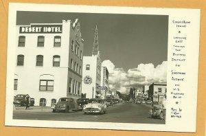 RP: COEUR d'ALENE , Idaho , 1930-40s ; Sherman Avenue , East
