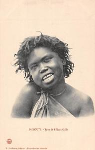Djibouti Type de Fillette Galla, Native Girl