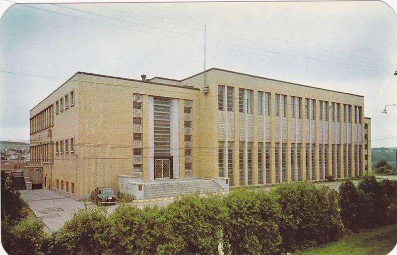 Rec Center , Edmundston , New Brunswick , Canada , 40-60s