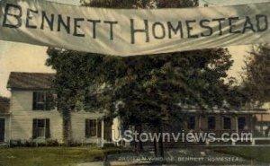 Bennett Homestead in Angola, New York
