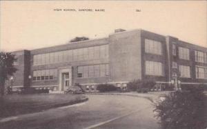 Maine Sanford High School