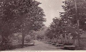 HANCOCK, New York, 1900-10s; Road to Sands Creek