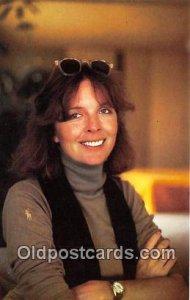 Diane Keaton Movie Actor / Actress, Entertainment Postcard Post Card unused