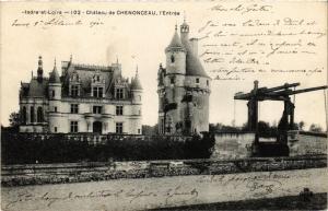 CPA Indre-et-Loire - Chateau de CHENONCEAUX - l'Entrée (298956)