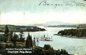 Penobscot River in Bangor, Maine
