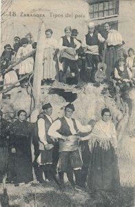 ZARAGOZA , Spain , 1924 ; Tipos del pais