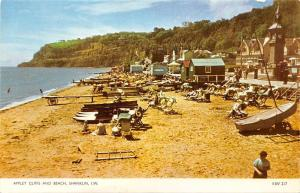 Appley Cliffs and Beach Shanklin Isle of Wight Boats