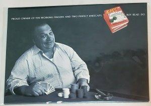 Vintage Advertising Card: K.I.S.S /DK: Gambling- GoCard/Yahoo