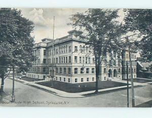 Unused Divided-Back HIGH SCHOOL Syracuse New York NY k0198