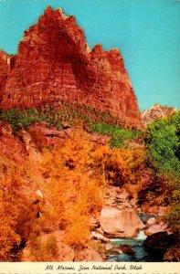 Utah Zion National Park Mt Moroni 1980
