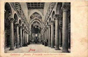 CPA PISA Cattedrale Navata Principale. ITALY (468058)