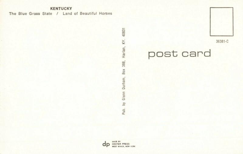 Postcard Greetings from Kentucky