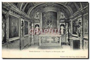 Old Postcard Grande Chartreuse the Saint Louis Chapel