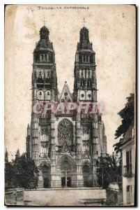 Postcard Old Cathedral Tours