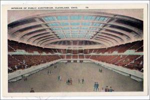 Interior of Public Auditorium, Cleveland OH