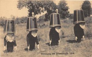 <A14> FANTASY Postcard 1914 ommegang van dendermonde Costumes Hottentotten