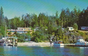Canada Bedwell Harbour & Resort South Pender Island British Columbia