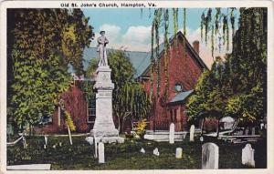 Old Saint Johns Church Hampton Virginia