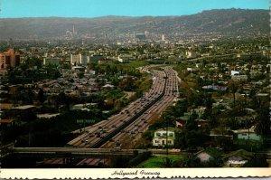 California Hollywood The Hollywood Freeway