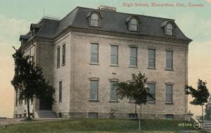 KINCARDINE , Ontario , 1900-10s ; High School