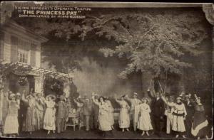 Scene From The Princess Pat  Actors PEMBER Theatre Opera c1910 Postcard
