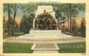 Alabama State Memorial - Gettysburg, Pennsylvania
