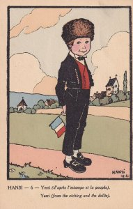 HANSI, France, 1916; Yerri From The Etching And The Dollie
