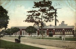 Manila Philippins Insular Cold Storage Plant Used 1910 Postcard