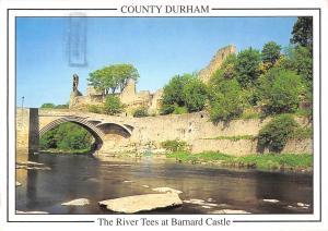 uk36658 river tees and barnard castle durham  uk lot 7 uk
