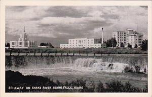 Idaho Idaho Falls Spillway On The Snake River