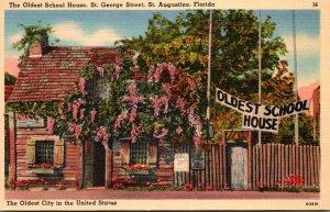 Florida St Augustine Oldest School House St George Street