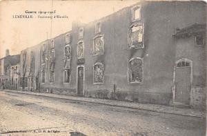 France Luneville Faubourg d'Einville, Street After War Guerre 1914-1915