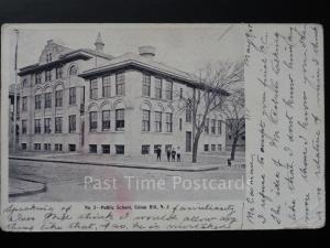 USA: New York PUBLIC SCHOOL, UNION HILL, New Jersey c1905