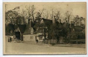 Old Cottages Kenilworth Coventry Warwickshire UK postcard