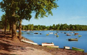 VT - South Hero. Boats in Lake Champlain